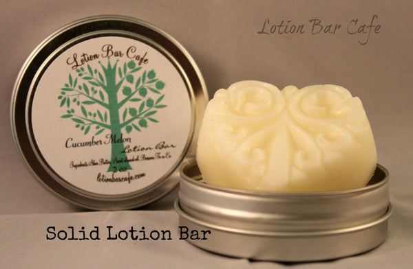 Solid Lotion Bar -Cucumber Melon