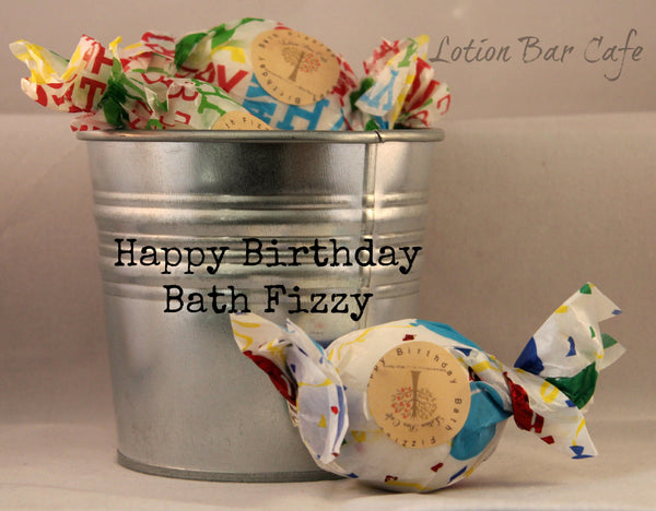 Bath Fizzy- Happy Birthday