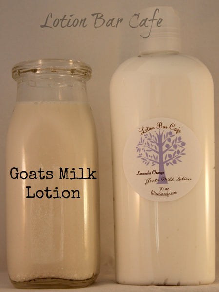 Goats Milk Liquid Lotion- Lavender Orange