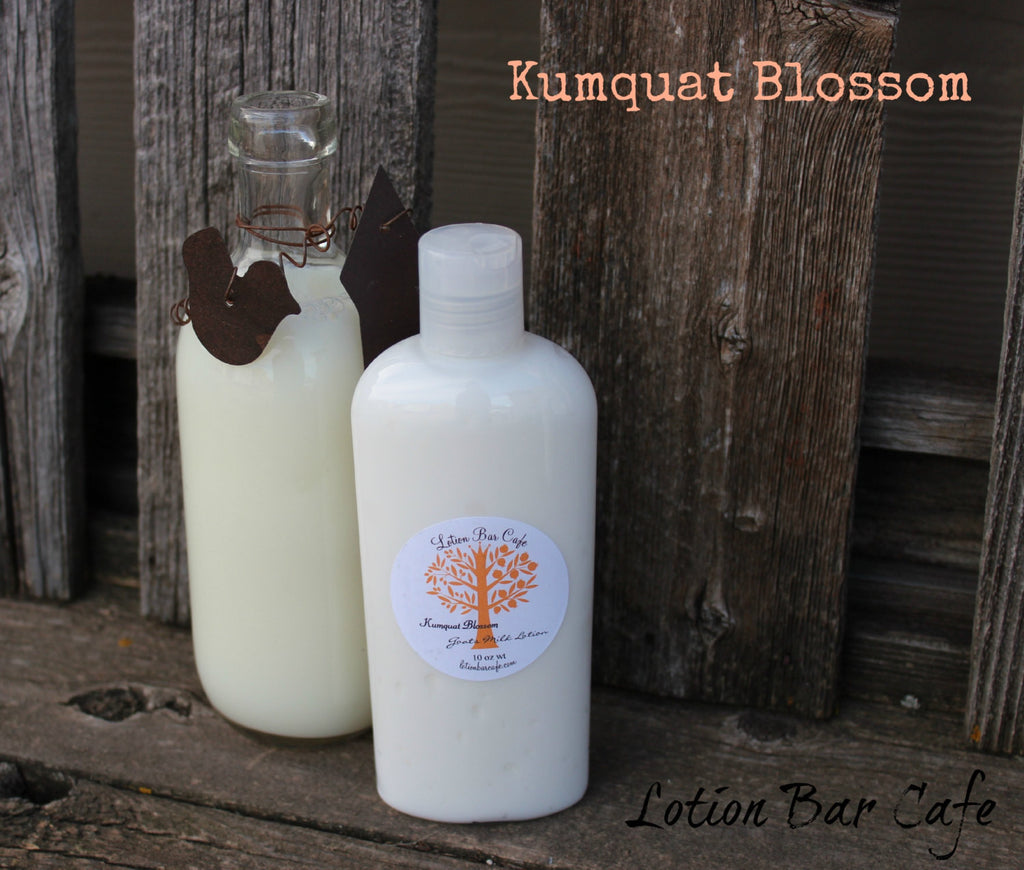 Kumquat Blossom Goats Milk Liquid Lotion