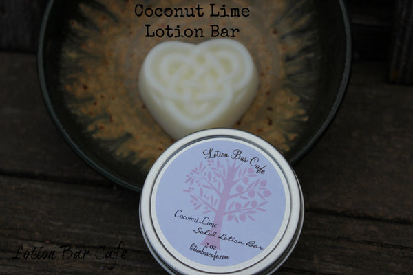 Solid Lotion Bar- Coconut Lime