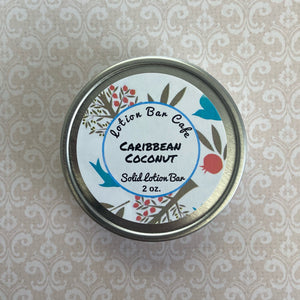 Caribbean Coconut Solid Lotion Bar
