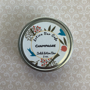 Champagne Solid Lotion Bar