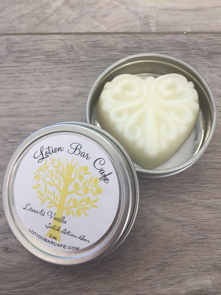Litsea & Vanilla Solid Lotion Bar