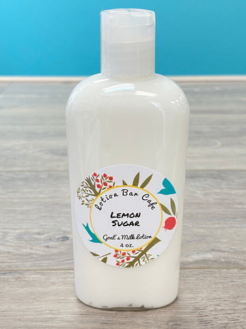 Lemon Sugar Goat's Milk Lotion (Small 4oz)
