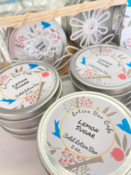 Lemon Sugar Solid Lotion Bar