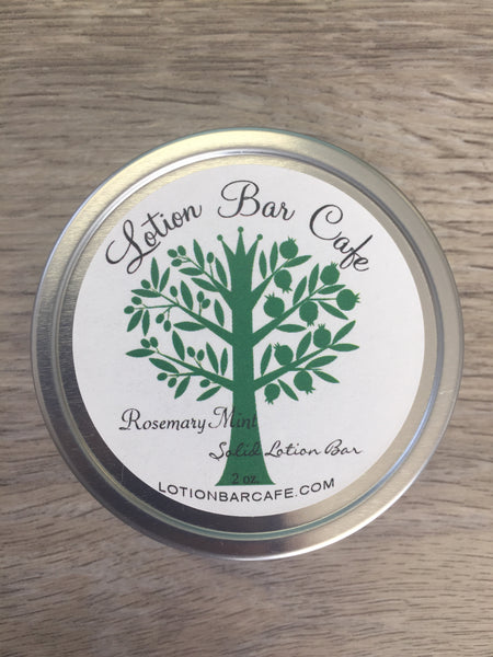 Rosemary Mint Solid Lotion Bar