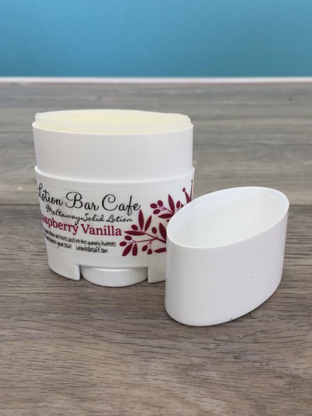 Raspberry Vanilla Solid Lotion Tube