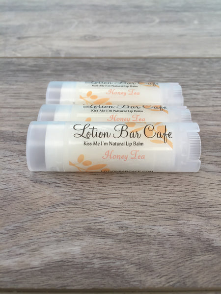 Honey Tea- Kiss Me I'm Natural Lip Balm