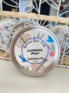 Lavender Mint Solid Lotion Bar