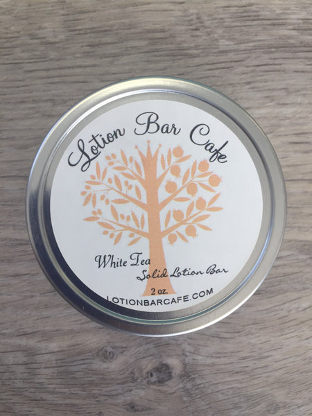White Tea Solid Lotion Bar