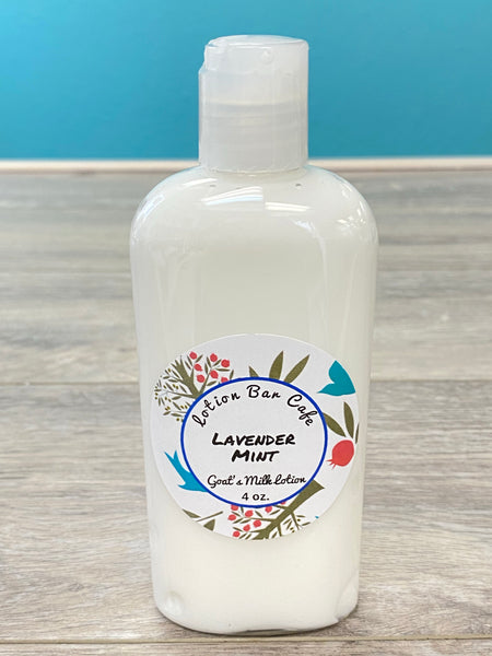 Lavender Mint Goat's Milk Lotion (Small 4oz)