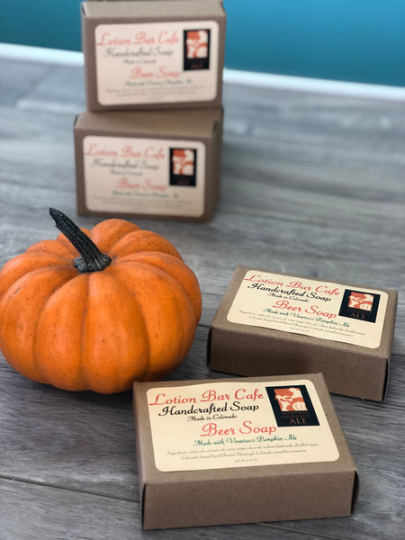 Pumpkin Beer Soap