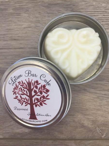 Peppermint Solid Lotion Bar
