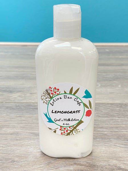 Lemongrass Goat's Milk Lotion (Small 4oz)