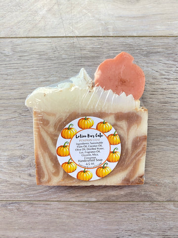 Pumpkin Chai Fall Collection Soap
