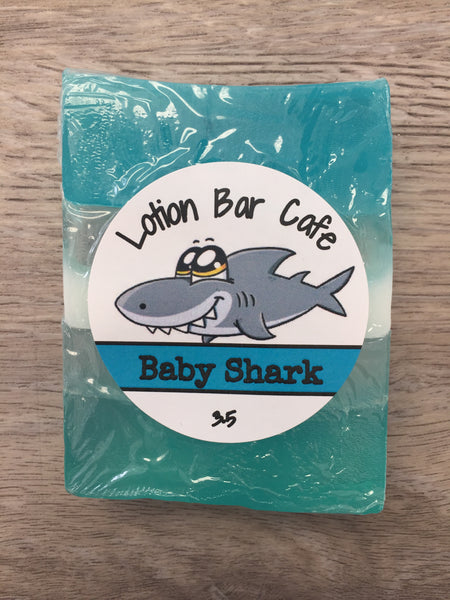 Baby Shark Glycerin Soap