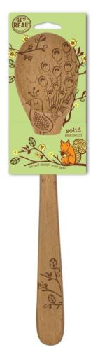 "Talisman Designs Woodland 12"" Mixing Spoon_pkg"