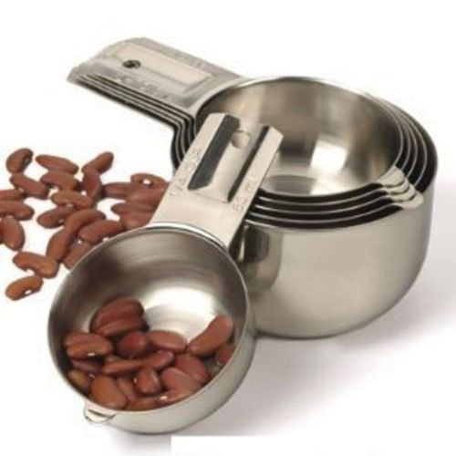 RSVP Endurance Nesting Measuring Cups 6 Piece Set_with nuts