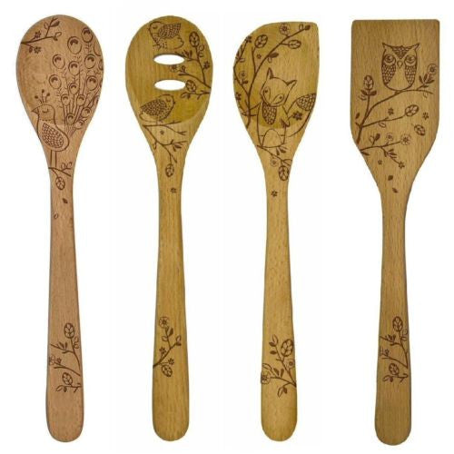 "Talisman Designs Woodland 12"" Utensils"