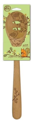 "Talisman Designs Woodland 12"" Slotted Spoon_pkg"