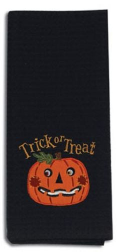 Kay Dee Designs Halloween Pumpkin Trick or Treat Kitchen Towel