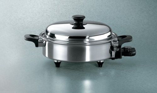 "Hammer Stahl 11"" Oil Core Electric Skillet"