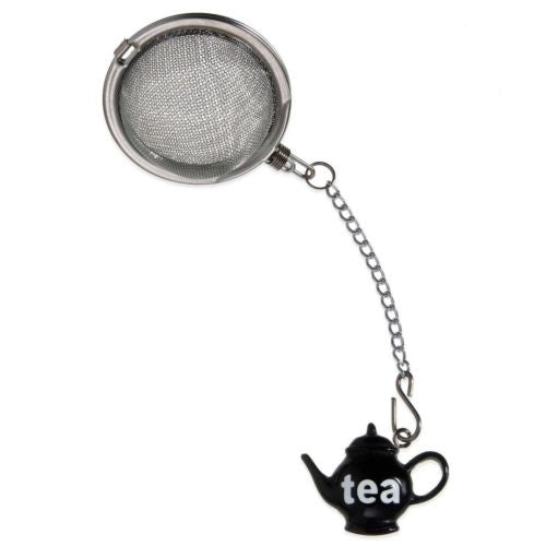 Prodyne Stainless Steel Tea Infusers - Black Teapot