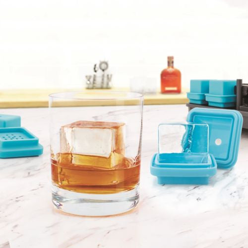Tovolo King Cube Clear Ice System - Set of 4 - lifestyle