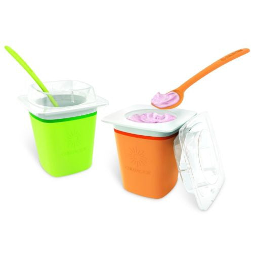 Chill Factor Frozen Yogurt Maker - Green or Orange