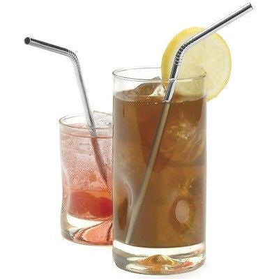 RSVP Endurance Drink Straws in 2 drinks