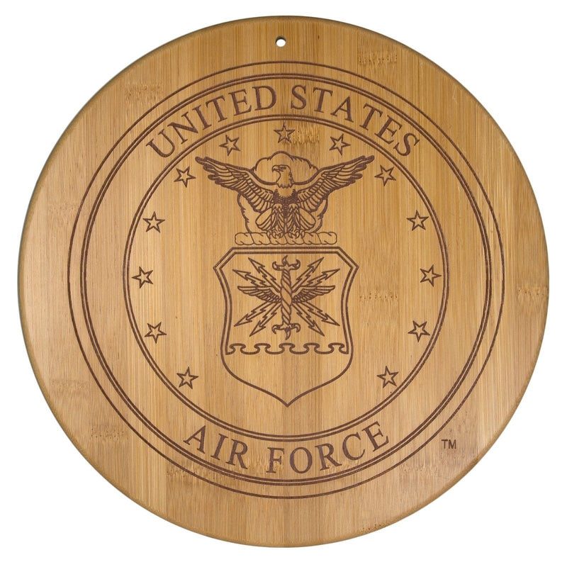 "Totally Bamboo Air Force 12"" Cutting & Serving Board"