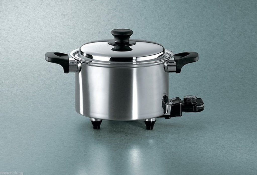 Hammer Stahl 5 Quart Oil Core Electric Slow Cooker