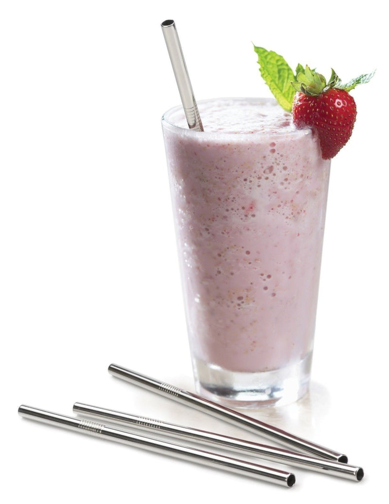 RSVP Endurance Frozen Drink Straws 4 Set lifestyle