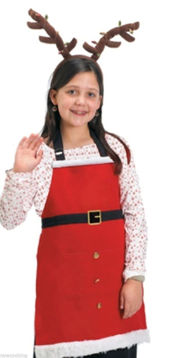 Kay Dee Designs Child Santa Helper Apron