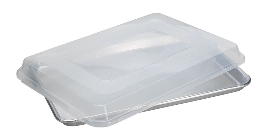 Nordic Ware Naturals Aluminum Commercial Baker's Half Sheet with Lid