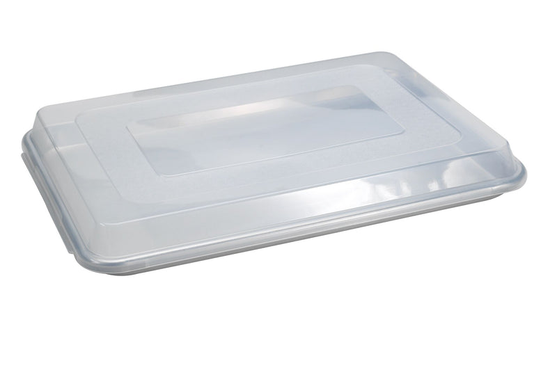 Nordic Ware Naturals Aluminum Commercial Baker's Half Sheet with Lid_lid on