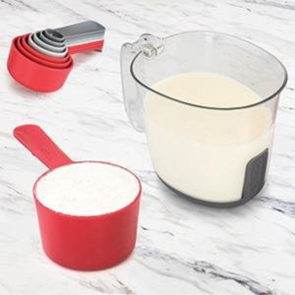 Tovolo Magnetic Nested Measuring Cups & Spoons System_wet & dry ingredients