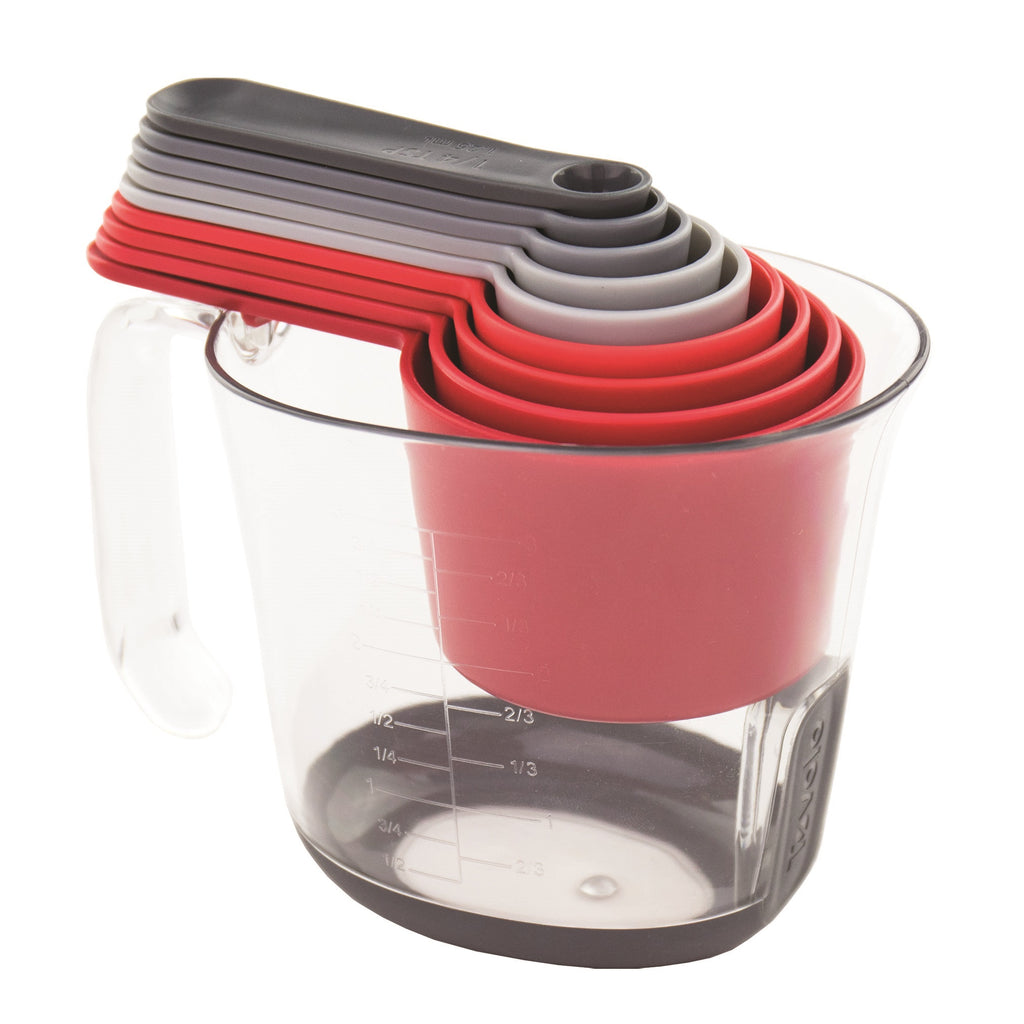 Tovolo Magnetic Nested Measuring Cups & Spoons System