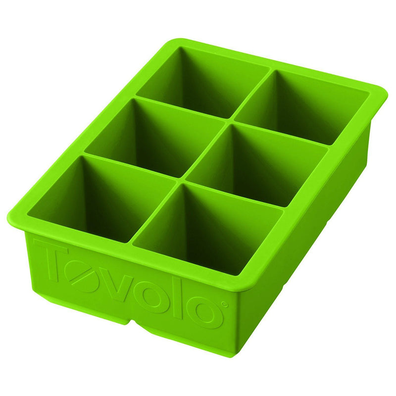 Tovolo King Cube Ice Tray_Spring Green