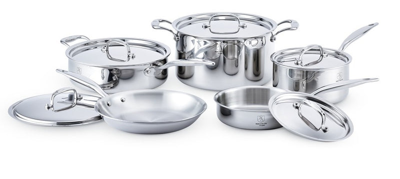Hammer Stahl 17002 10-piece Cookware Set