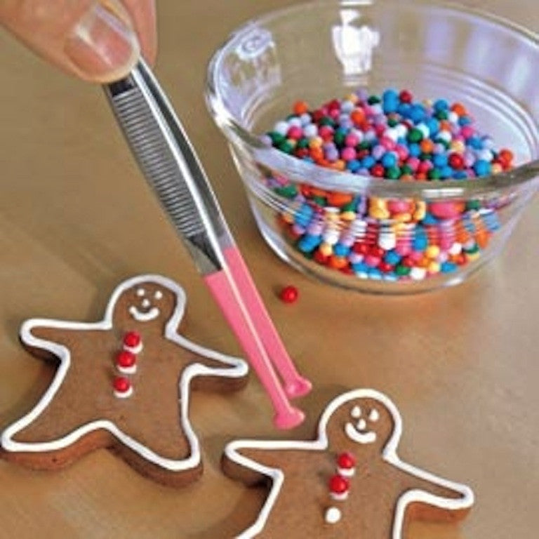 RSVP Endurance Decorating Tongs decorating Gingerbread Men