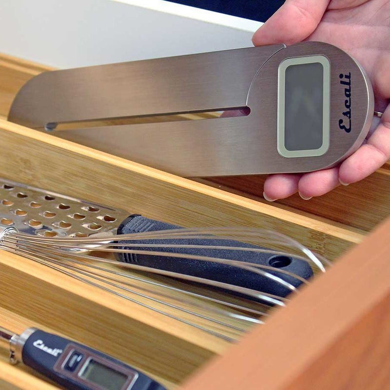 Escali Savu Space Saving Scale_in drawer