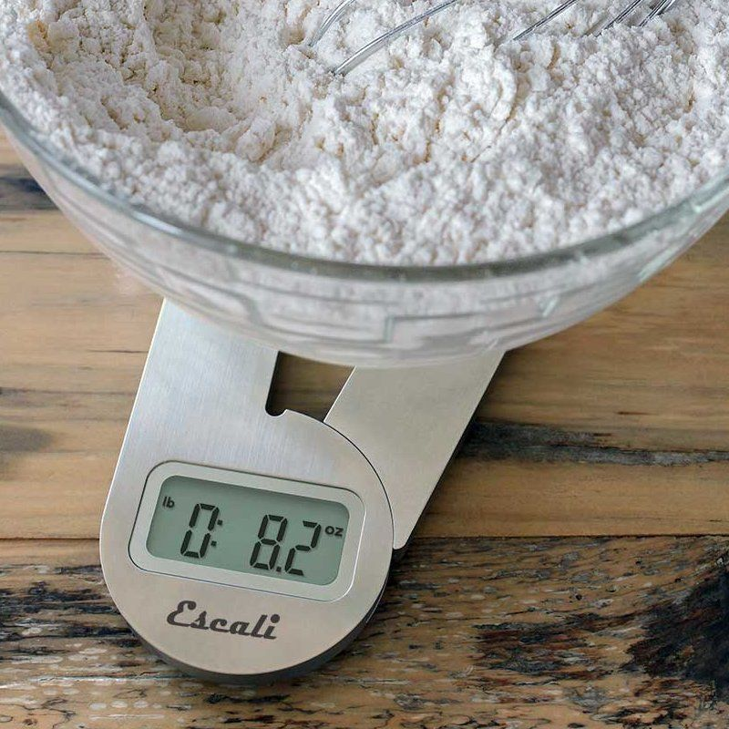 Escali Savu Space Saving Scale_measuring flour