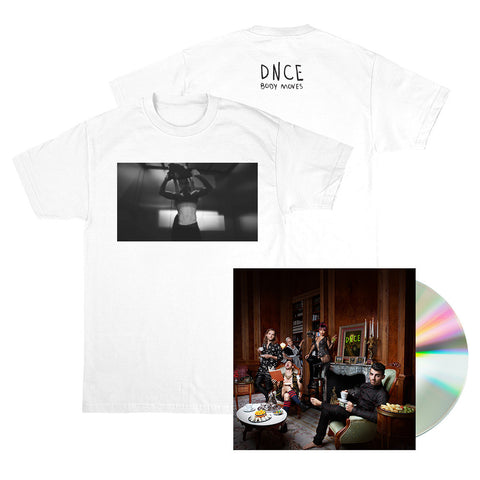 DNCE Album + Body Moves Joe White Tee