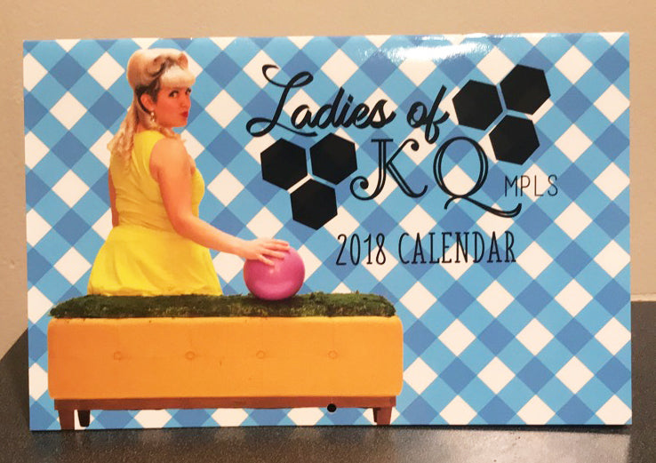 Ladies of KQ MPLS 2018 Pinup Calendar