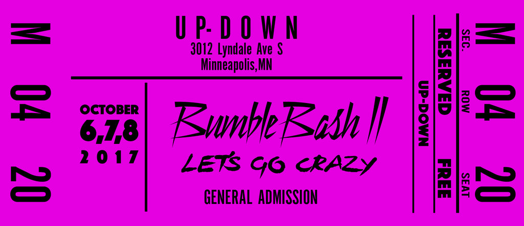 Spectator Registration for BumbleBash 2