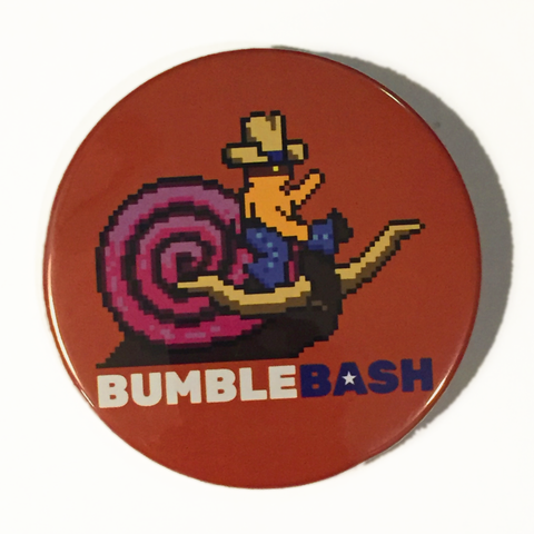 "BumbleBash I Commemorative 3"" Button"