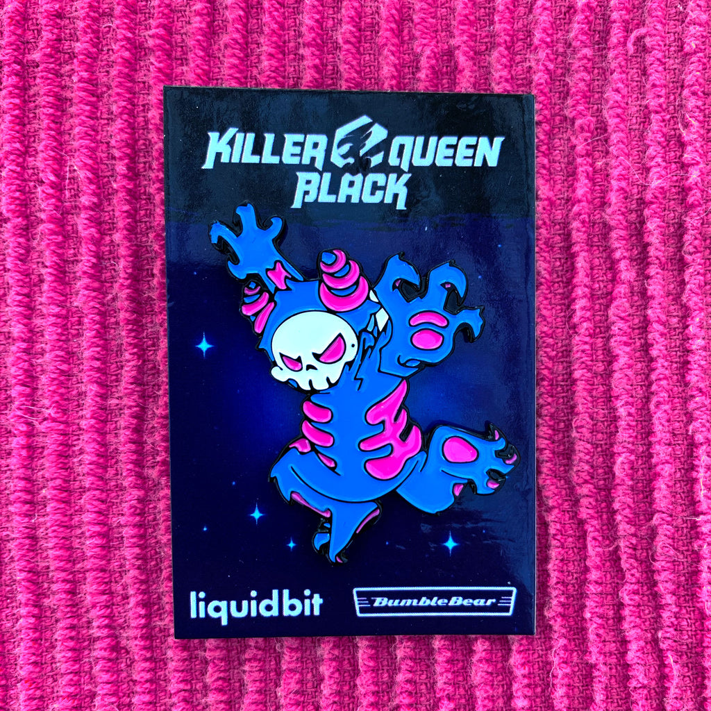 Skulls Drone - Killer Queen Black Enamel Pin