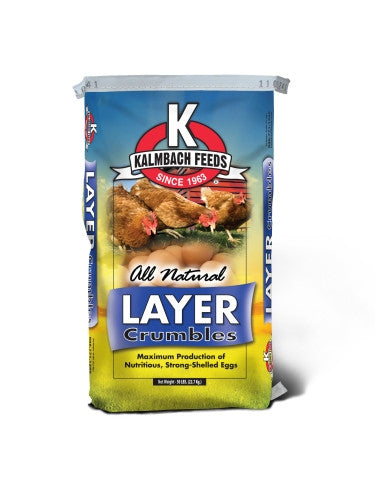 Kalmbach All Natural 16% Layer Crumble 50 Lb.